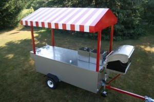 Hot Dog Cart Company - Lightning Bolt Grill Hot Dog Cart ...