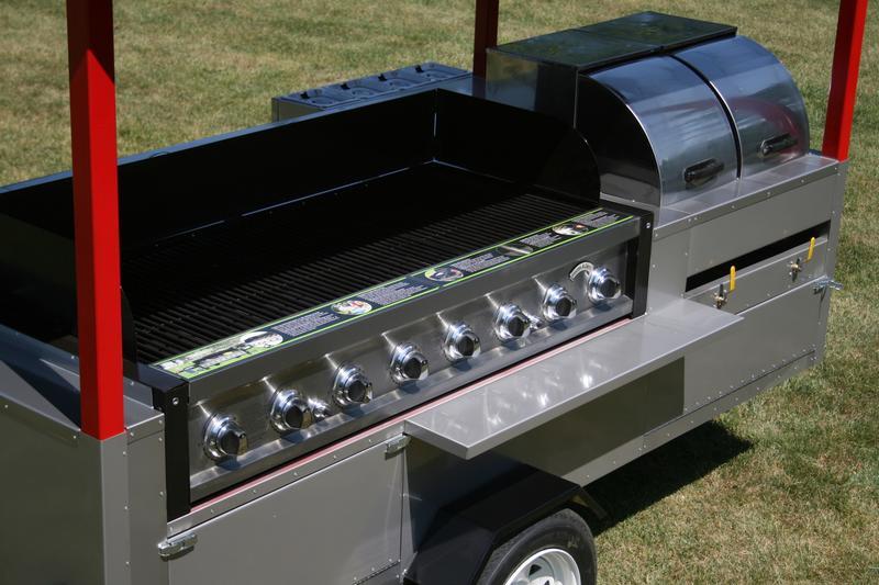 Grand Master Hot Dog Cart Vending Concession Trailer Stand