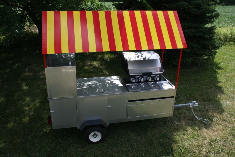 Burners For Hot Dog Cart