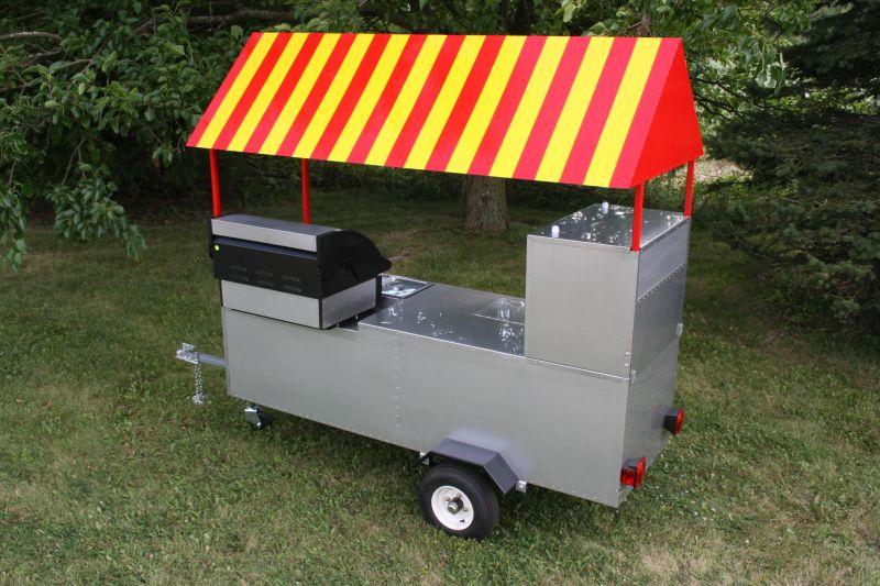 Limo Hot Dog Cart