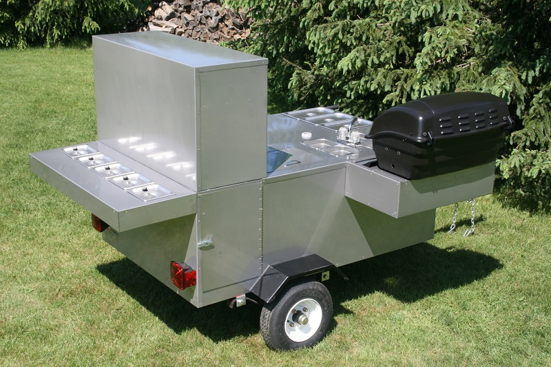 Patagonia Hot Dog Cart Grill Steam Table Sinks