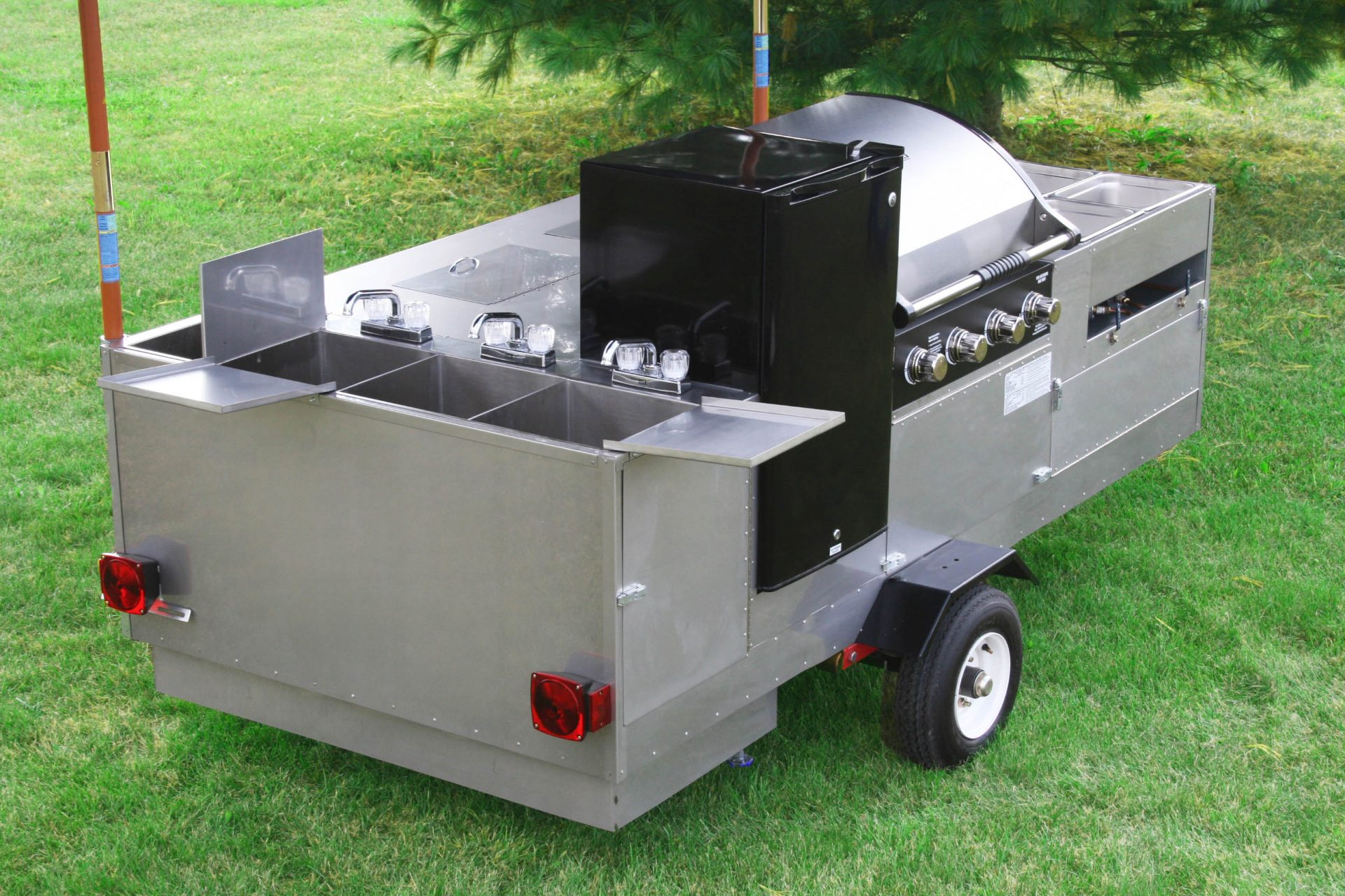 HOT DOG CART VENDING CONCESSION TRAILER STAND BRAND NEW | eBay