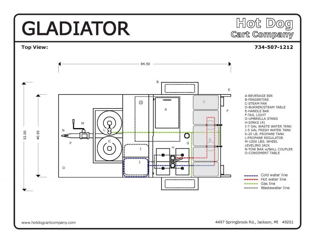 gladiator top