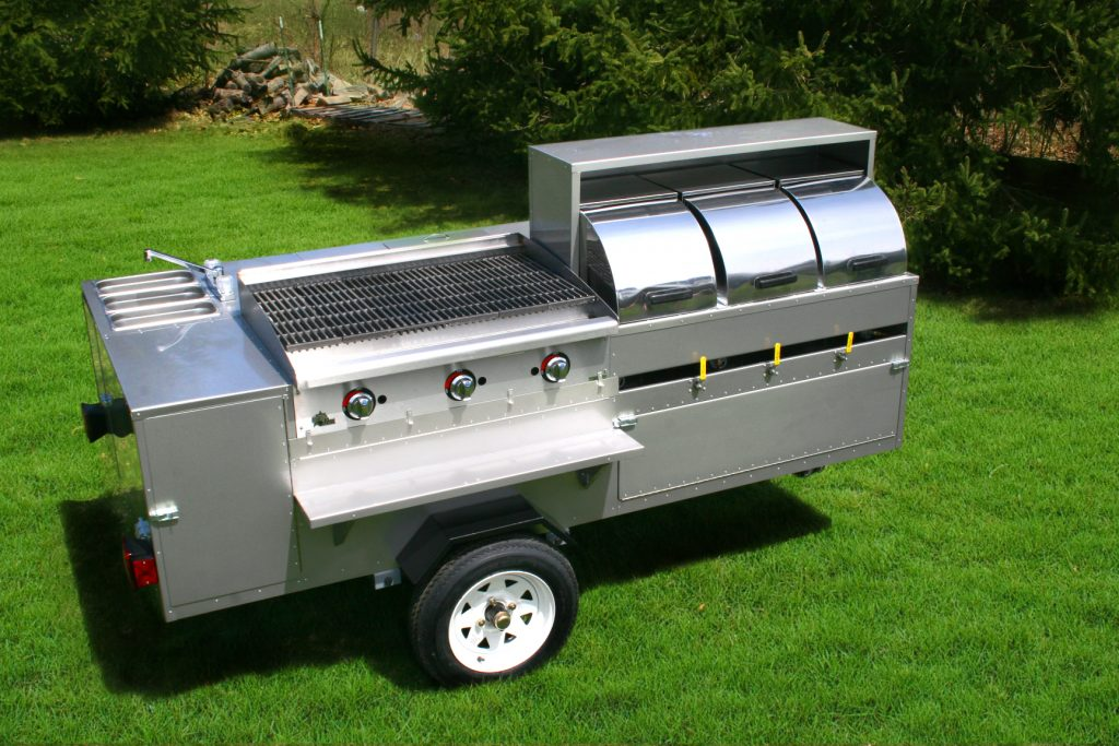 hot dog cart charbroiler dynamite