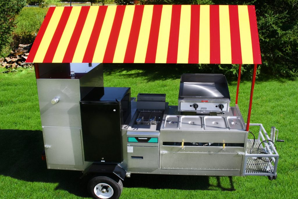 hot-dog-cart-griddle-fryer-fridge-limo-fully-loaded
