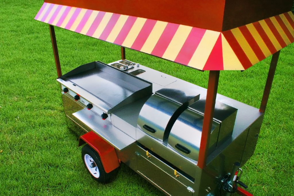 hot dog cart griddle grand master