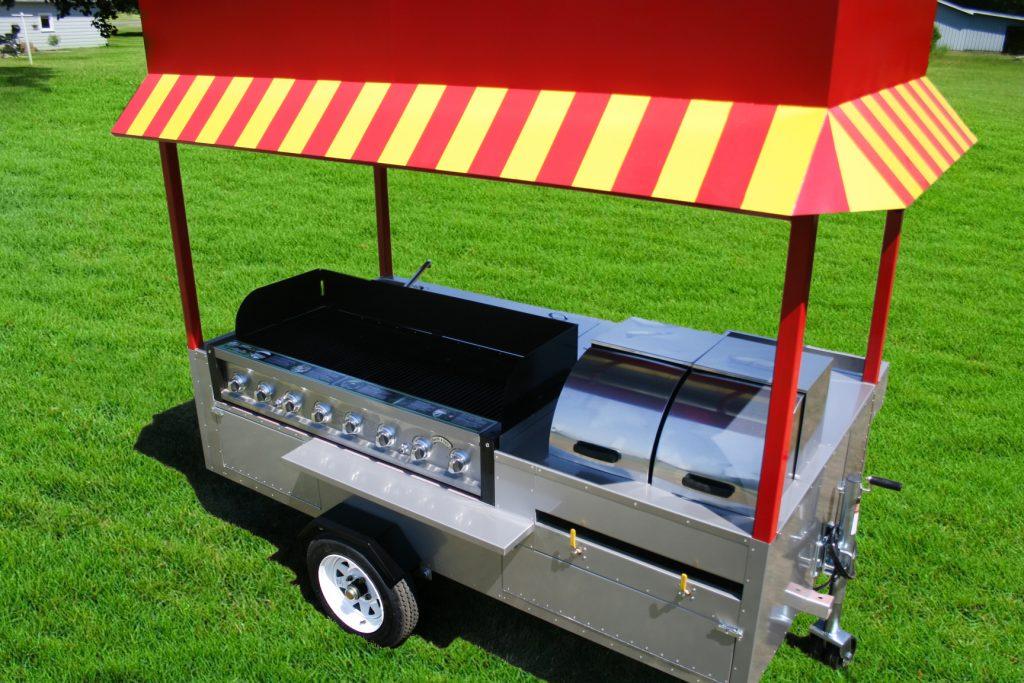 hot dog cart grill grand master