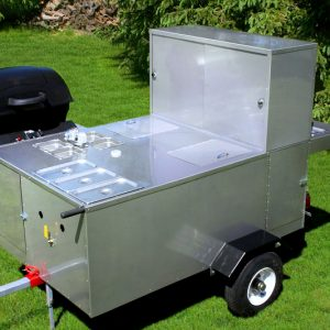 Patagonia Hot Dog Cart