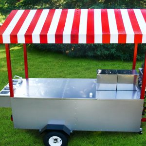 The Boss Hot Dog Cart