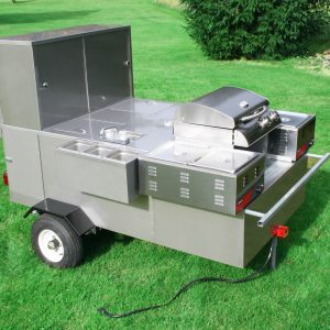 The Hybrid Hot Dog Cart