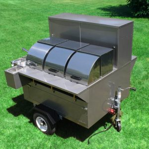 Lightning Bolt Hot Dog Cart