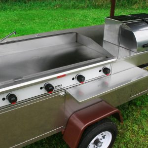 Grand Master Griddle Hot Dog Cart