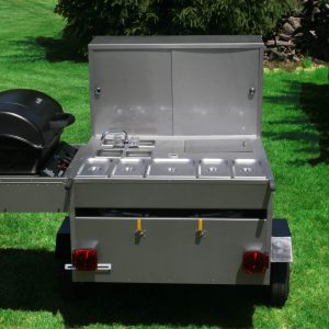 Gladiator Grill Hot Dog Cart
