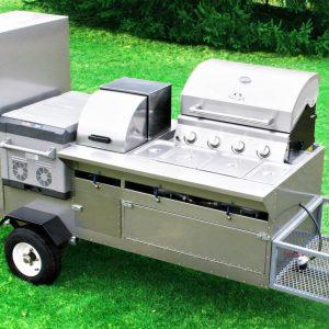 The Bullet Hot Dog Cart