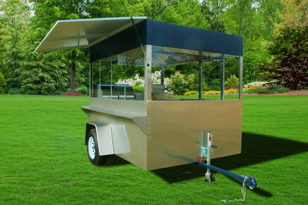 concession trailer fryer griddle steamer enterprise hot dog cart company
