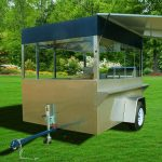 concession trailer griddle fryer steamer water pump hot dog cart enterprise