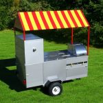 food stand hot dog cart short limo