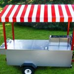 food trailer hot dog cart grill boss