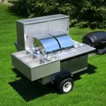 hot dog cart for sale grill lightning bolt