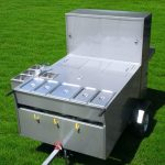 hot dog cart manufacturer trailer lucky star