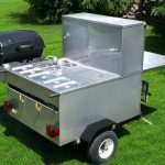 hot dog stands grill trailer gladiator