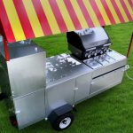 hot dog trailer stand grill limo